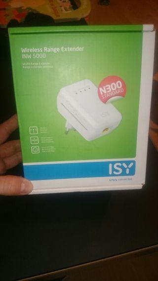 Amplificador de señal WiFi ISY