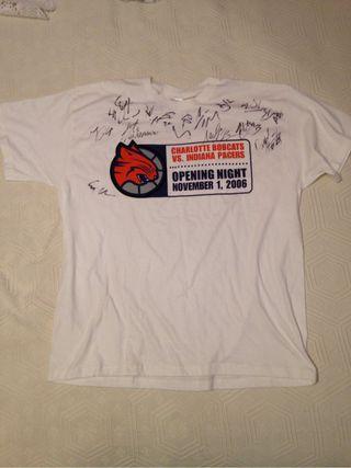 Camiseta NBA baloncesto firmada