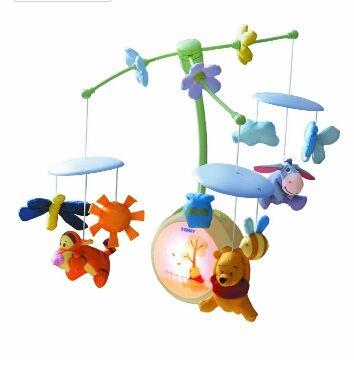 Móvil bebé / carrusel para cuna Winnie the pooh