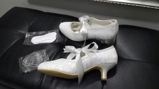 Zapatos novia talla 39