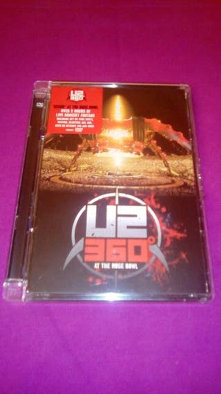 Dvd U2 360° At the rose bowl