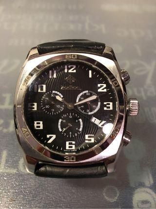 Reloj Zodiac pulsera piel negr