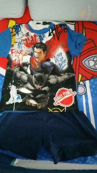 Pijama Batman y Superman