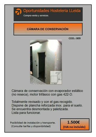 CÁMARA DE CONSERVACIÓN
