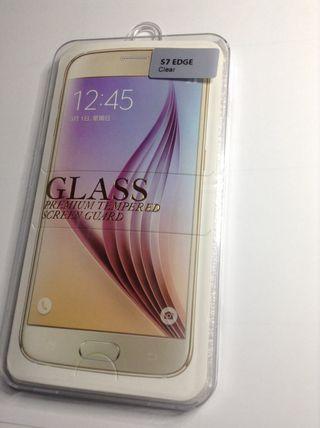 Protector Vidrio Templado Samsung S7 Edge