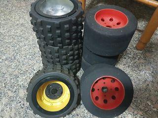 dwa 1/4 ruedas
