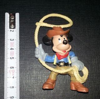 Figura Mickey. Vaquero con lazo Disney