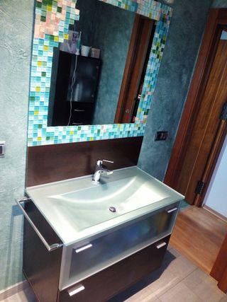 Conjunto muebles cuarto de ba o de segunda mano por 300 en miajadas en wallapop - Muebles de cuarto de bano de segunda mano ...