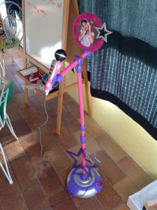 Micrófono De Pie De Violetta