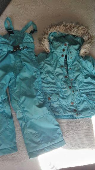 Conjunto esquí poivre blanc