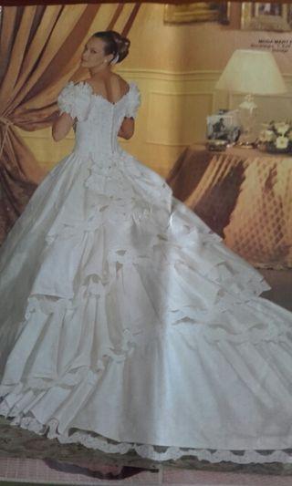 Vestido novia St. Patrick tipo Sisi Emperatriz