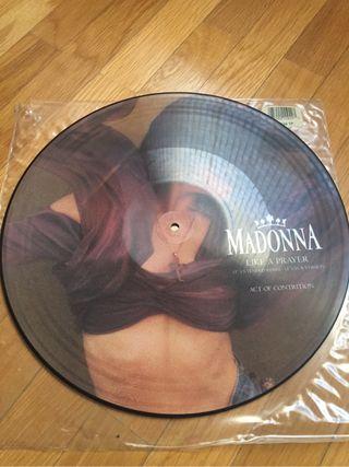"Picture Disc #Madonna - Maxi Single ""Like a Prayer"""