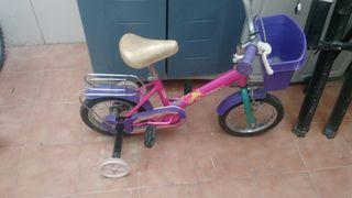 Bici niña infantil