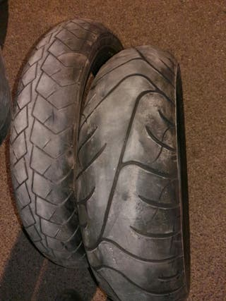 2 bridgestone battlax bt020R 120/70X18 y 170/60X17