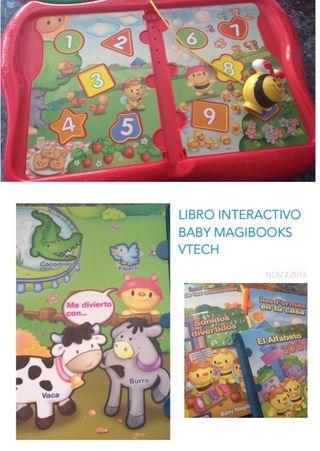 LIBRO INTERACTIVO BABY MAGIBOOKS VTECH