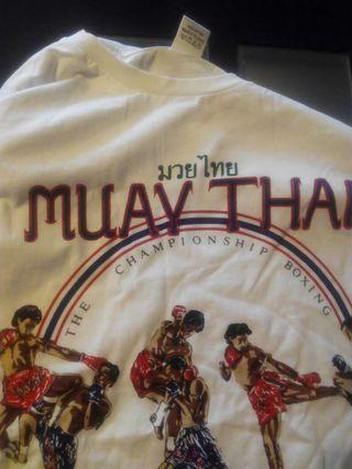 Camisetas de muay thai