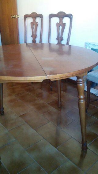 Mesa y sillas comedor de segunda mano por 60 en vigo en wallapop - Wallapop mesa comedor ...