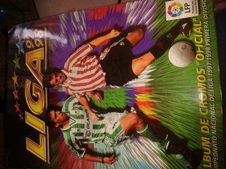 Album de cromos oficial de la liga97/98completa