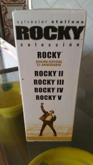 saga de rocky! 5 películas.