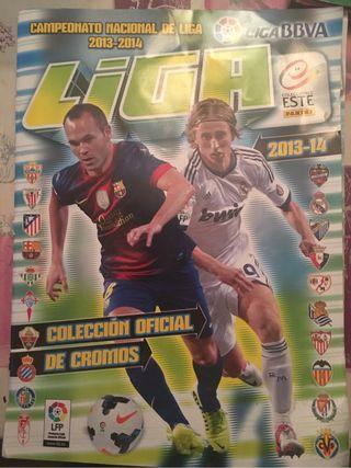 Album cromos futbol liga 13-14