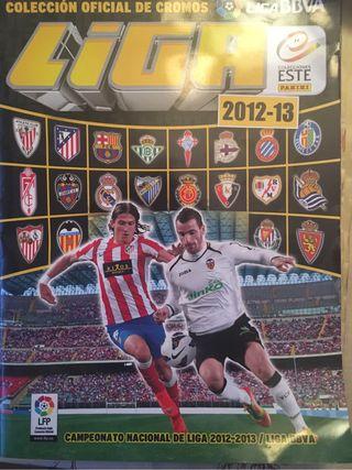 Album cromos futbol liga 12-13