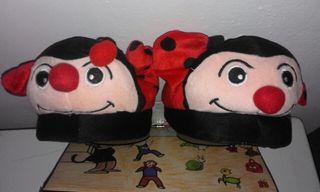 Zapatillas locas Mariquita