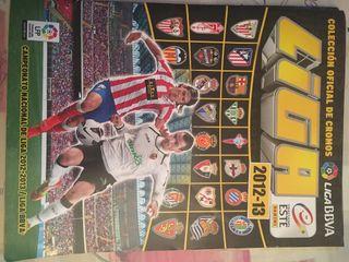 Album cromos futbol liga 12-13 (otro)