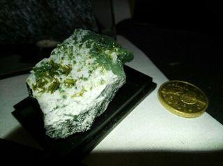 Epidota con clorita mineral