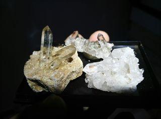 Cuarzos de suiza mineral