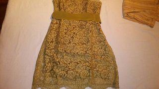 Vestido de cóctel Tintoretto