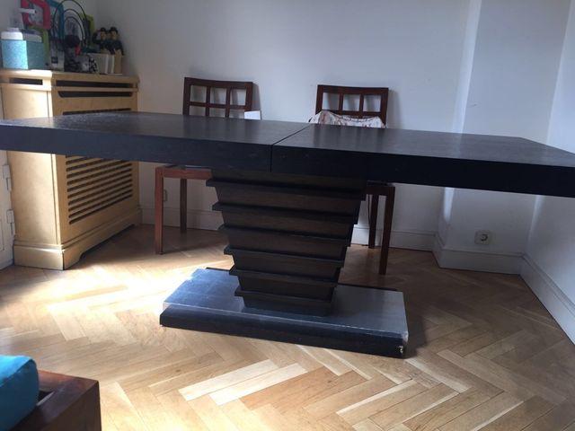 Mesa comedor extensible diseño de segunda mano por 90 € en Madrid en ...
