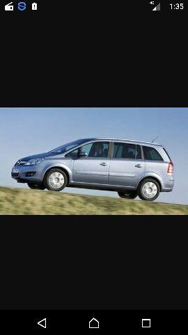 Opel zafira 1.7 ecotec