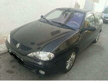 Coche. Renault megane coupe