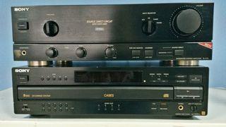 Amplificador y Reproductor 5CD Sony
