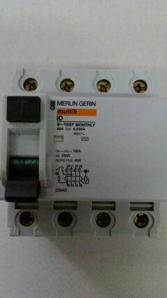 Diferencial Merlin Gerin 40A nuevo