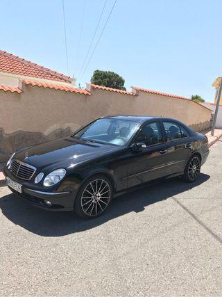 Mercedes benz clase E CDI