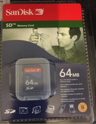 Secure Digital (SD) SanDisk 64MB
