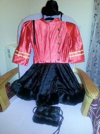 Disfraz de niña rusa . Talla : 3-6 años