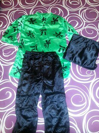Disfraz de Chino/a. Talla : 4-6 años