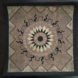 Lienzo mexicano (Sol azteca) - A ESTRENAR (unico)