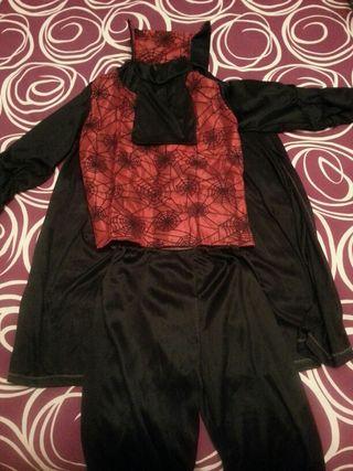 Disfraz de Drácula. Talla : 7-9 años