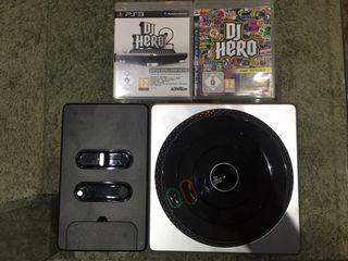 Dj Hero 1 y 2 + Mesa de mezclas