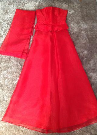 Vestidos rojos fiesta el corte ingles