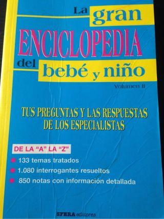 La gran enciclopedia del bebé y niño