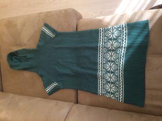 Vestit de llana amb caputxa - Vestido lana capucha