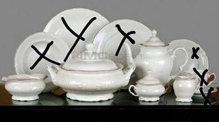 Conjunto porcelana Alhambra...
