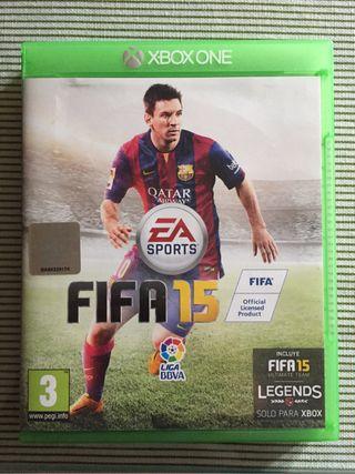 Fifa 15 para Xbox one.