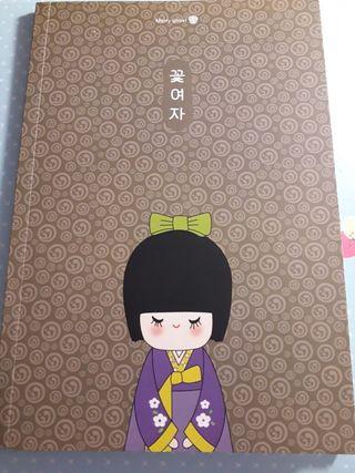Cuaderno Kokeshi