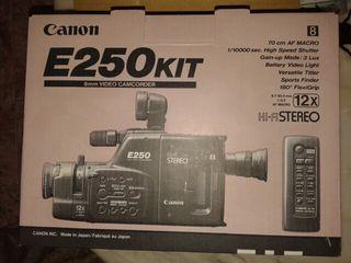 Video camara canon E 250
