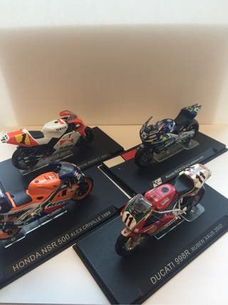 Miniaturas Moto GP escala